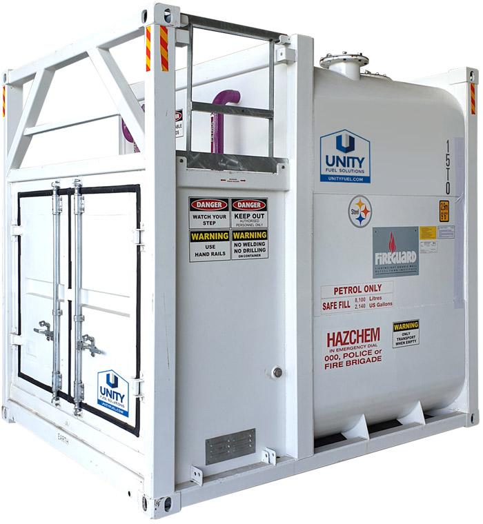 2140 gallon fireguard fuel tank