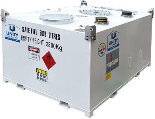 5000 litre fireguard fuel tank